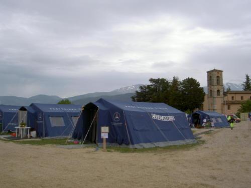 Santa Rufina / Terremoto Aquila / magio 2009