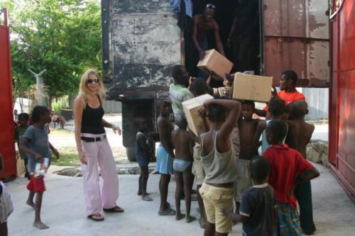 Terremoto Haiti consegna 2010