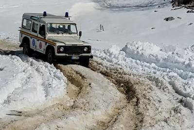 Corso guida su neve